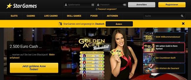 Star Games Casino Reine Abzocke